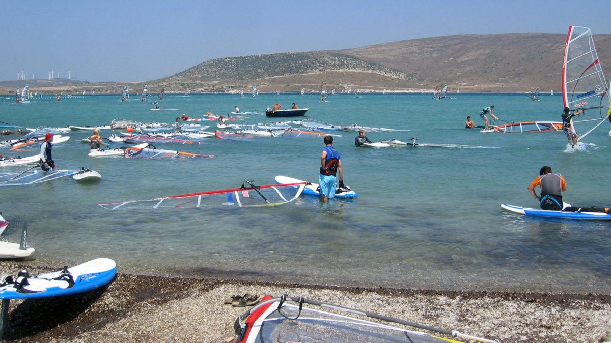 Alaçatı is a real paradise for windsurfers