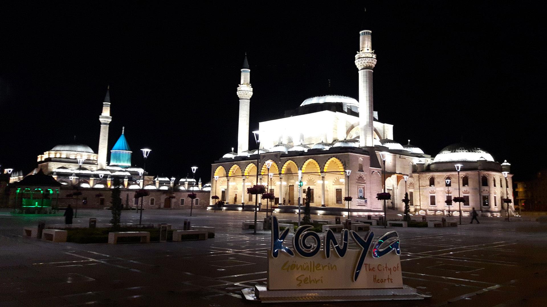 Konya at night
